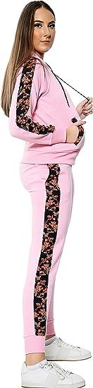 Love My Fashions/® Uomo Tuta Sportiva Impostato Vello Felpa con Cappuccio Contrasto cordone Top Bottoms Jogging Cerniera Lampo Palestra Completo da Uomo Taglia Grossa S M L XL XXL