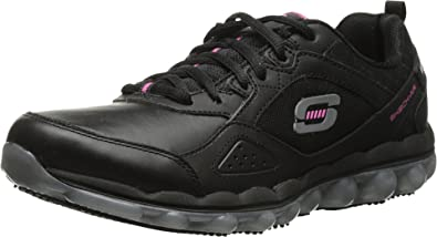 Work Skech Air Slip Resistant Lace-Up