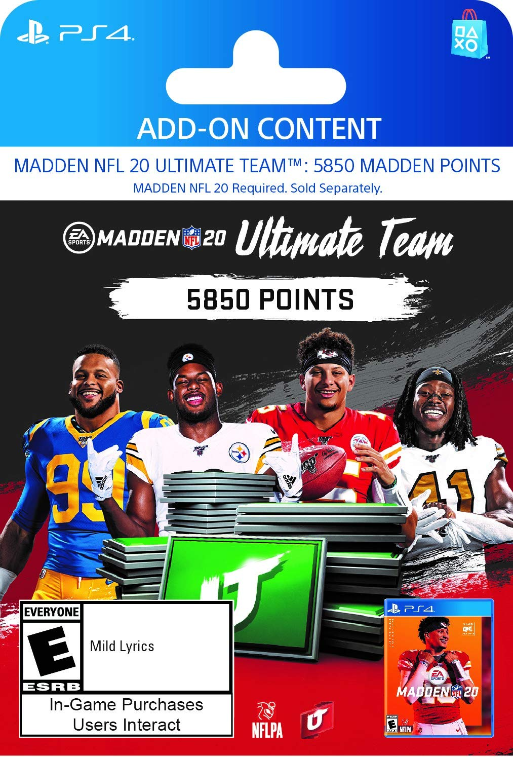 Madden NFL 20: MUT 5850 Madden Points Pack - [PS4 Digital Code] by Electronic Arts