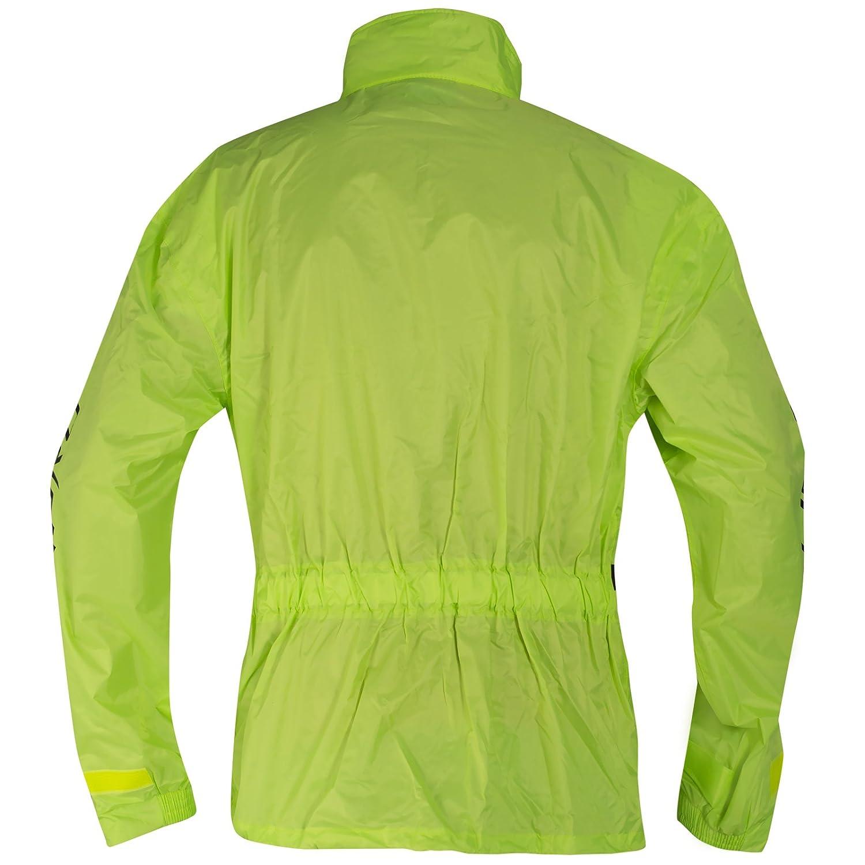 A-pro Combinaison Vetements Antipluie Housse Fluo Blouson Pantalon Securit/é Fluo XXL