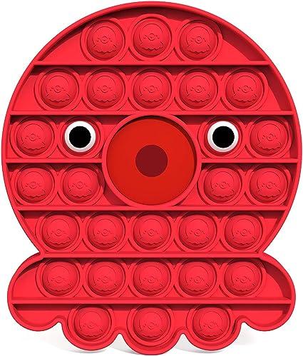 LOOVEE Fidget Toy Set Push Pop Bubble Sensory Fidget Toy Juguetes Antiestr/és Sensorial Autismo Necesidades Especiales Aliviador del Antiestr/és Relajarse Educativos Juguetes para Ni/ños Adultos