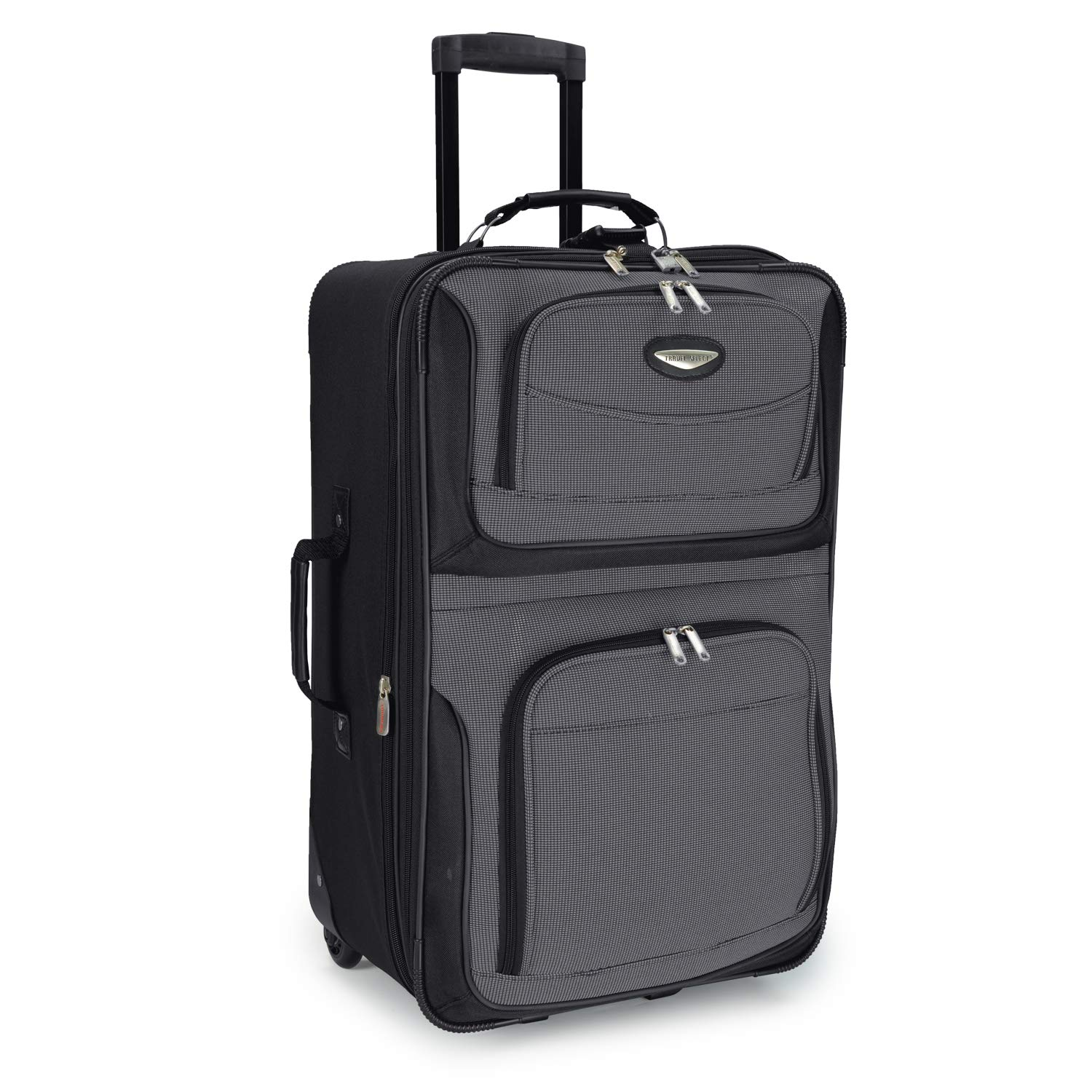 Travel Select Amsterdam 25'' Expandable Rolling Upright Luggage, Gray by Travel Select