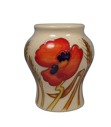 Moorcroft Harvest Poppy 325 Vase Shape 1463 Emma Bossons Rrp