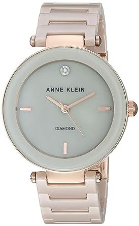 4ea9f4db4 Amazon.com: Anne Klein Dress Watch (Model: AK/1018RGTN: Watches