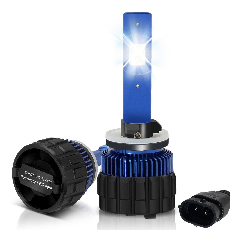Win Power Coche 880(881) LED 8000LM 6000K Sin Error Kit conversión LED para faros 2 Uds: Amazon.es: Coche y moto
