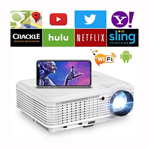 Ai LIFE Proyector de Video HDMI Inteligente Home Theater 1080P ...