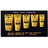 Bee Bald 5 Piece Daily Skin Care Regimen Kit