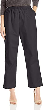 Chic Classic Collection Womens Petite Petite Denim Pull on Pant