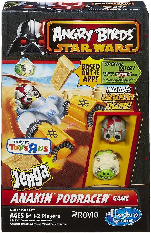 Star Wars Angry Birds Jenga Anakin Podracer Game by Hasbro: Amazon.es: Juguetes y juegos