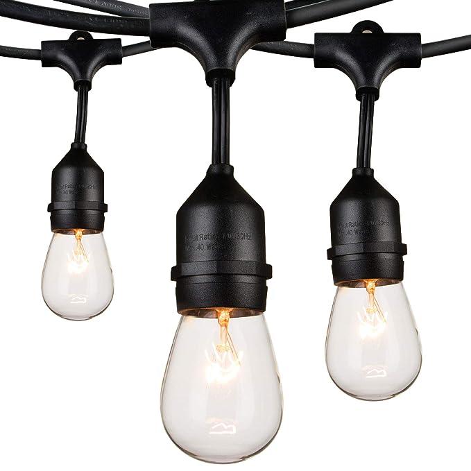 Guirnalda de luces para exteriores: Amazon.es: Bricolaje y ...