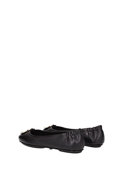 28467568241de0 ... Amazon.com Tory Burch Reva Shoes Ballet Minnie Travel Flats Soft Naplak  Leather TB Logo ...
