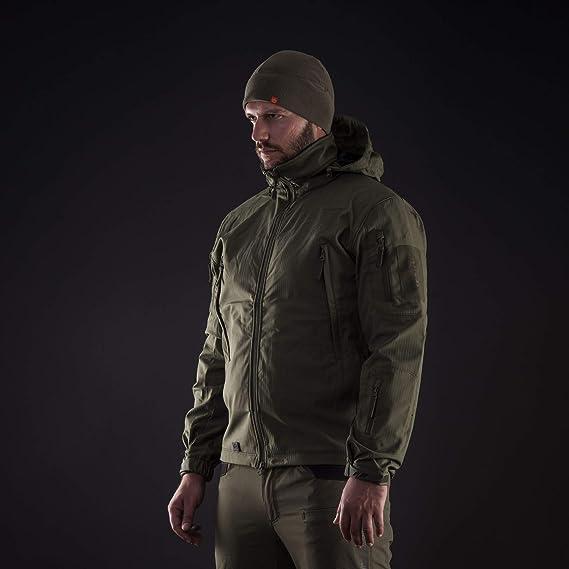 Pentagon Artaxes Combat Soft Shell Jacket Mens Tactical  Security Midnight Blue