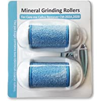 Replacement Rollers for Care me Rechargeable Callus Remover (Model# CM202) - Effectively Removes Hard and Cracked Skin…