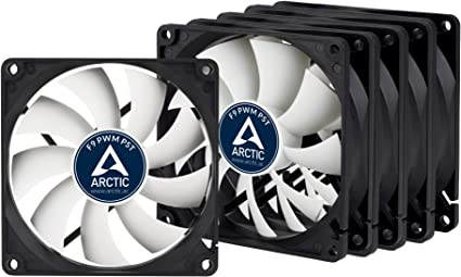 ARCTIC F9 PWM PST (5 Piezas) – 92 mm Ventilador de Caja para CPU ...