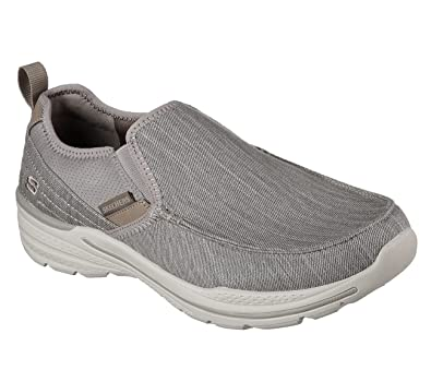 1717540883a0 Skechers Men s Lifestyle 65455 Canvas Moc to Slip On
