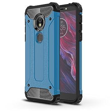 b6bff9f9bc0 SPAK Motorola Moto E5,Moto G6 Play Funda,Silicona Gel TPU Interna y ...