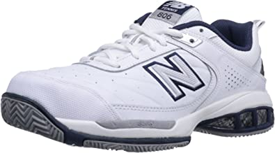 Amazon.com | New Balance Men's 806 V1 Tennis Shoe, White, 9 XW US | Fashion  Sneakers