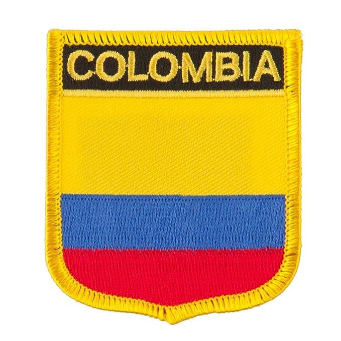 Amazon.com: América del Sur bordado, diseño de bandera de ...
