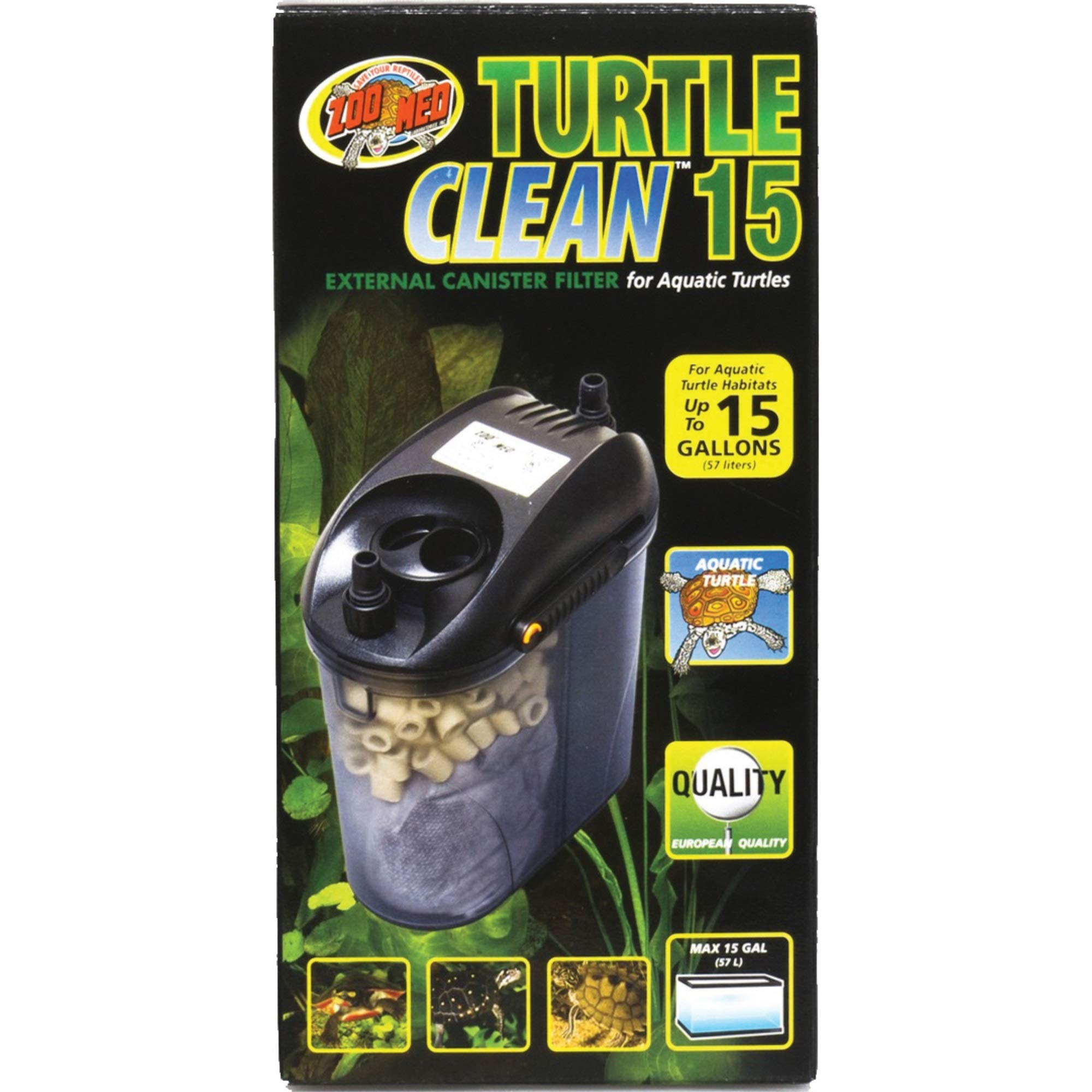 Zoo Med Turtle Clean 15 External Canister Filter by Zoo Med