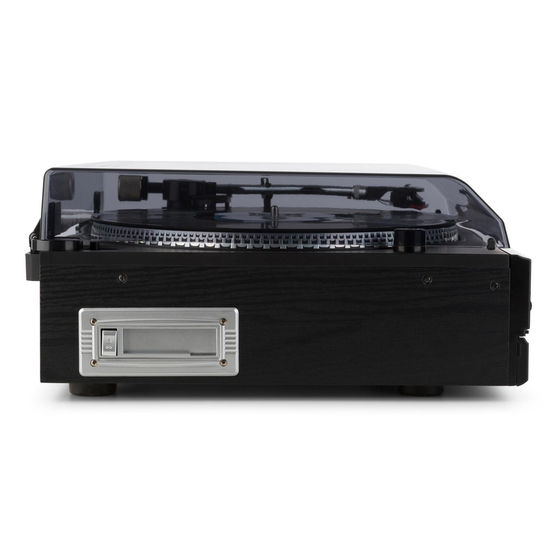 Auna TCRD 993C Tocadiscos con Altavoces (Reproductor CD, Casete y ...