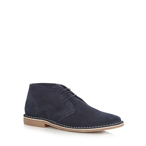 Blue suede 'Stevie' Desert boots big discount NfDUX