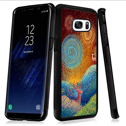 Amazon.com: Merciey - Carcasa para Samsung Galaxy S7, diseño ...