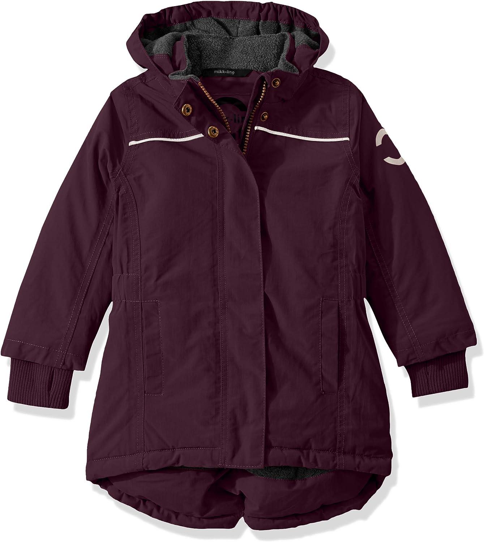 MIKK-Line Melton girls Nylon Long Winter Coat
