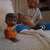 Amazon Com Baby Alive Super Snacks Snackin Luke African