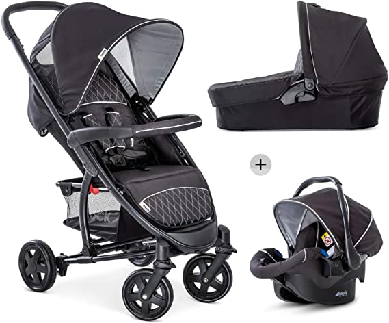 Hauck Malibu 4 Trio Set 3 in 1 Pushchair Set