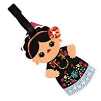 By Mexico Identificador de Maletas Modelo Traje típico de Oaxaca