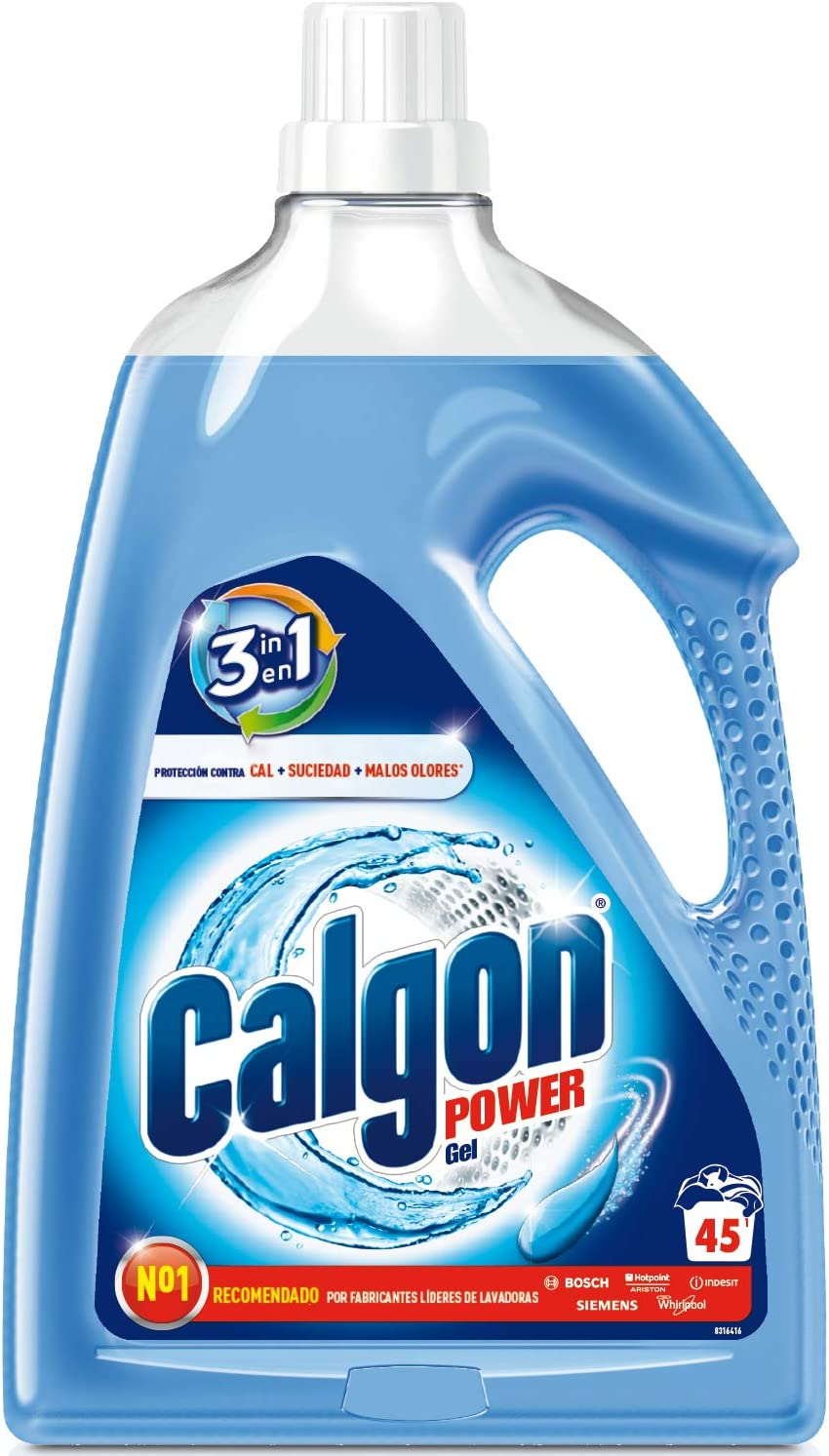 Calgon 3 en 1 Antical Lavadora Gel - 2.25 l
