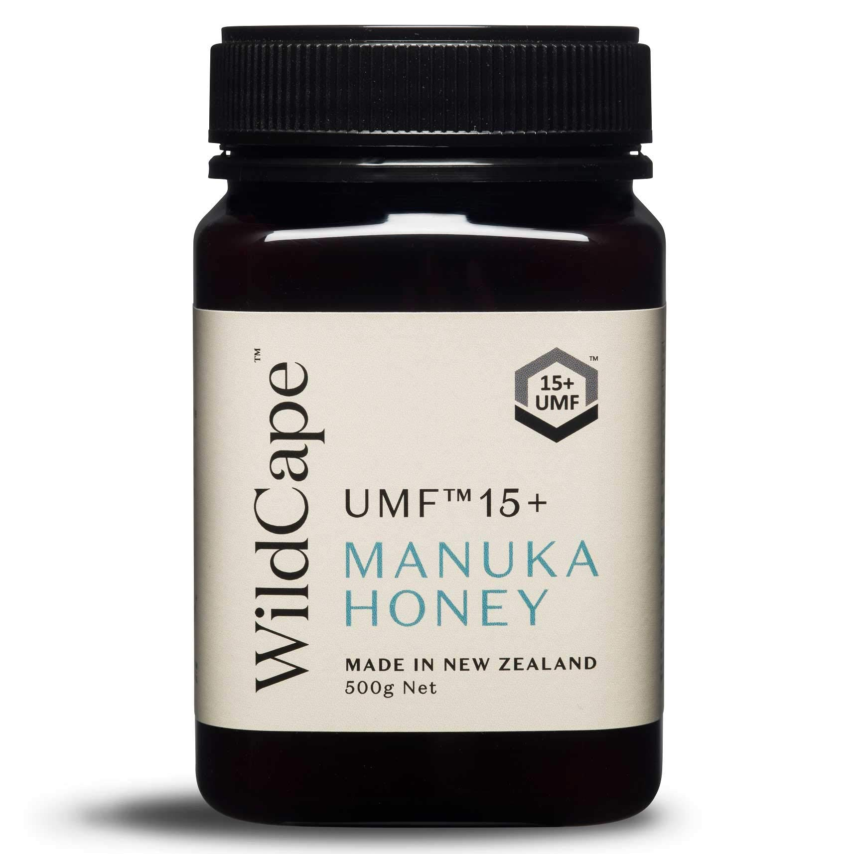 WildCape UMF 15+ East Cape Manuka Honey, 500g (1.1 lb)