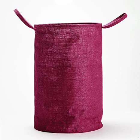 WMM Craft H amp;B Storage Organizer  20 L, Maroon  Laundry Bags