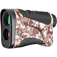 Gosky Optics Hunting Rangefinder - Laser Range Finder with Speed, Scan, Speed Modes for Hunting and Normal Measurements