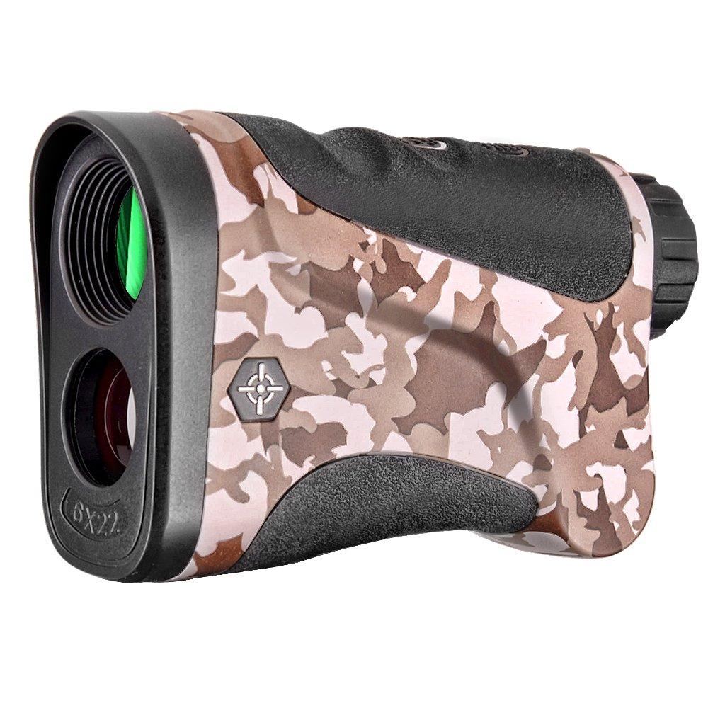 Gosky Laser Rangefinder Hunting Range Finder with Ranging/Speed Model for Hunting, Outdoor Using (LE1000S, 1094 Yard)