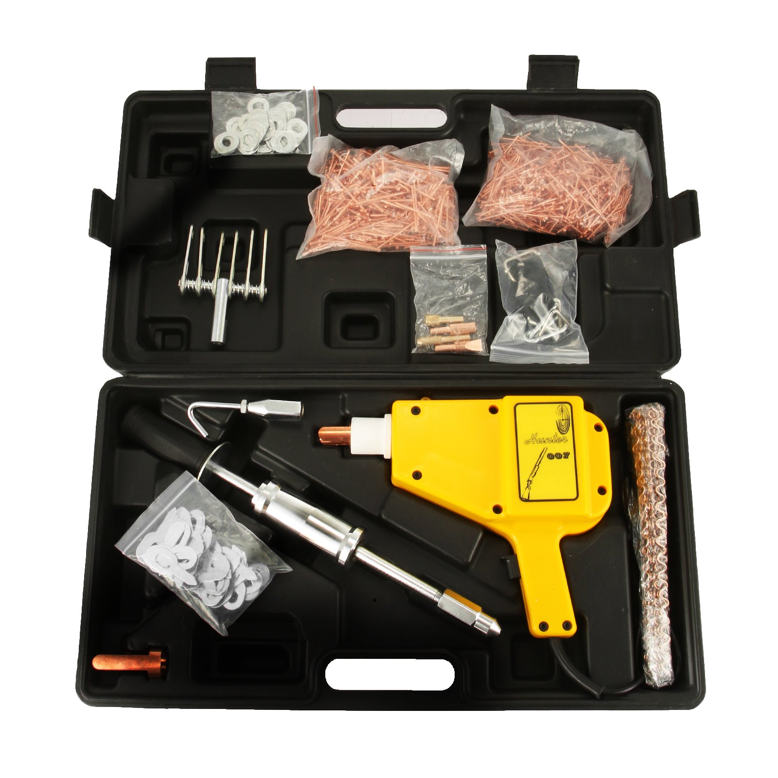 Mophorn Stud Welder Dent Repair Kit 1600A Stinger Stud Welder Kit 800 VA Welder Kit for Car Bump Repairing