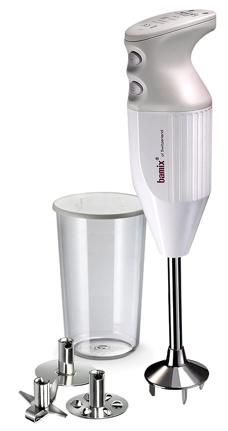bamix M133 Mono Immersion Blender & Processor, Silver