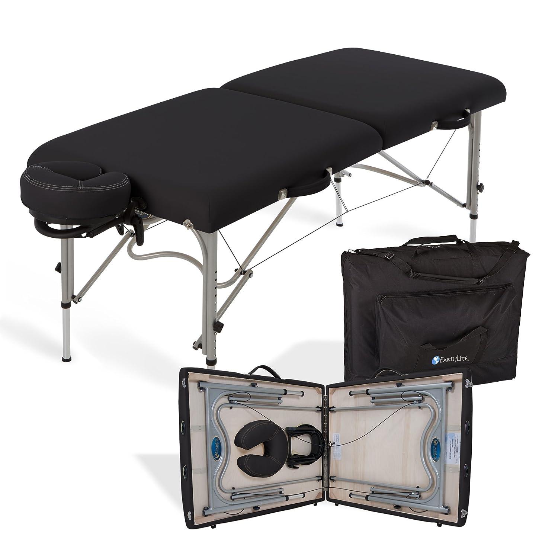 Lightweight portable massage table - Amazon Com Earthlite Luna Portable Massage Table Package Black Sports Outdoors