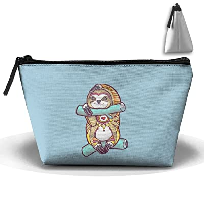 Unisex Stylish And Practical Awesome Sloth Sit On A Branch Trapezoidal Storage Bags Handbags