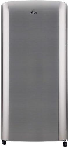 LG 190 L 3 Star Direct Cool Single Door Refrigerator  GL B201RPZD, Shiny Steel