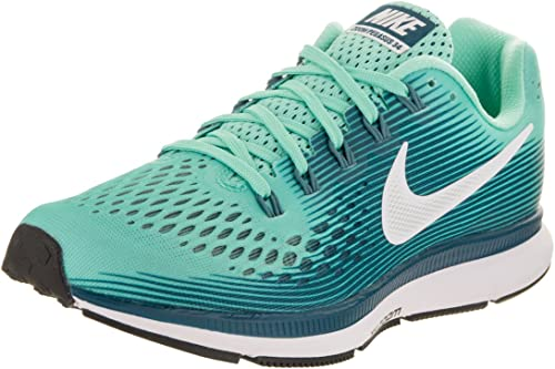 Nike Air Zoom Pegasus 34 - Zapatillas de running para mujer, color verde (6)