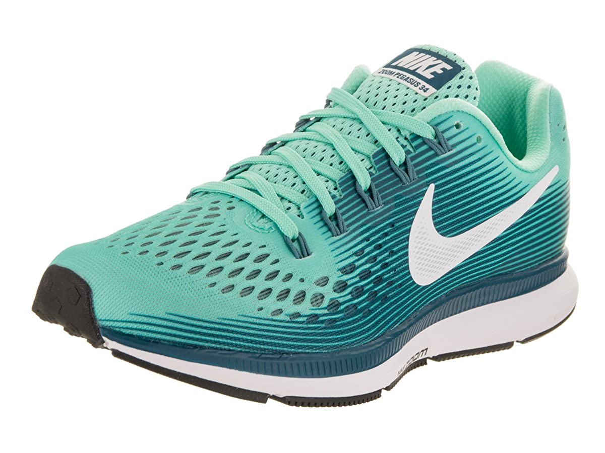 Nike Women s Air Zoom Pegasus 34 Running Shoe Green 8