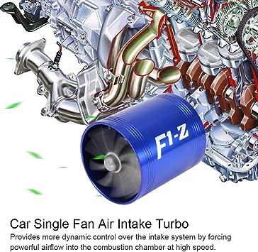 per saver turbo KIMISS con turbina a doppio ventilatore super caricatore Turbina di ingresso dellaria per auto
