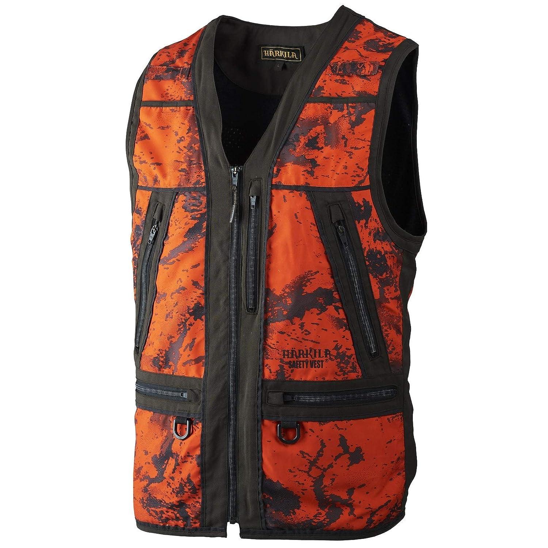 Signalweste Jagd H/ärkila Jagdweste Herren Orange Lynx Safety AXIS MSP/® Orange Blaze