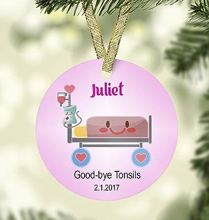 Unique Christmas Ornaments.Amazon Com Susie85electra Hospital Christmas Ornamentcustom