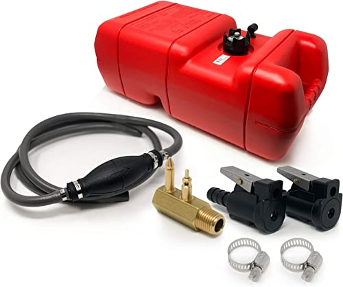 Portable Marine Boat Outboard Fuel Tank Kit (OMC, Johnson, Evinrude) [Five Oceans] Picture