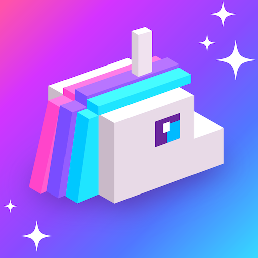Frappy Unicorn: Jump in Rainbow Path - Trending games for free ( no wifi ) -