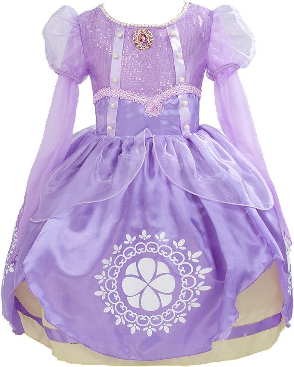 Amazon.com: Rizoo - Vestidos de manga larga para niñas ...