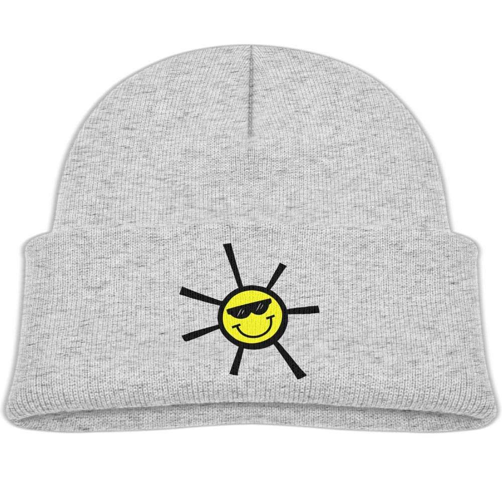 Fzjy Wnx Cute Glasses Sun Wool Hats Warm Boys Winter