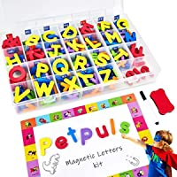 Magnetic Alphabet Letters - 238 PCS Refrigerator ABC Magnets for Educating Kids with Magnetic Board - Toddlers Preschool…